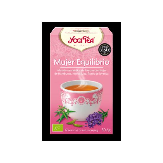 Yogi tea mujer equilibrio bio Natursoy 17x1