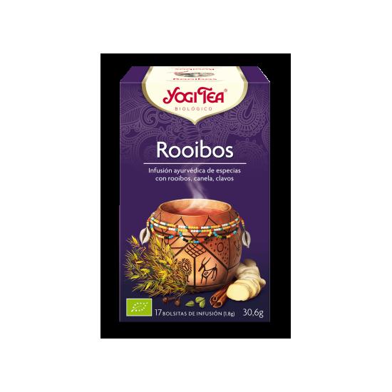 Yogi tea rooibos filtros bio Natursoy 17x1