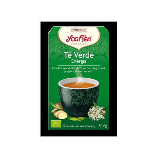 Yogi tea te verde energia bio Natursoy 17x1