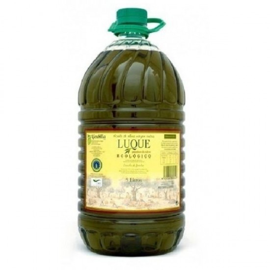 Aceite oliva eco plastico Luque 5 lt