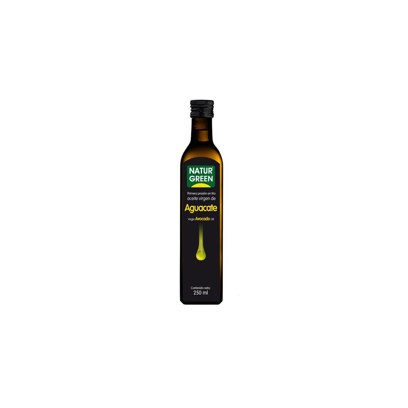 Aceite de aguacate bio Naturgreen 250 gr