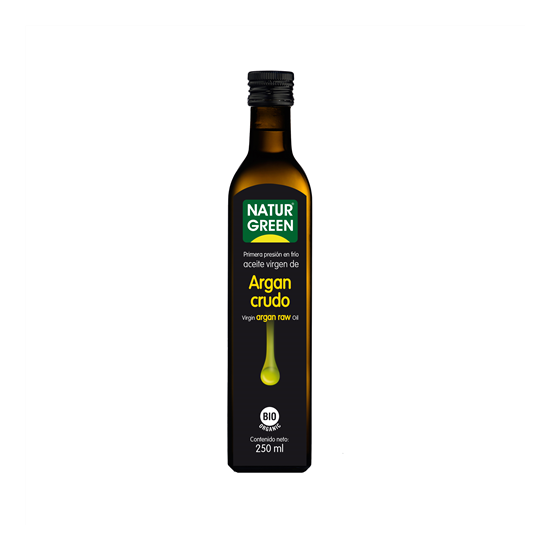 Aceite de argan crudo bio Naturgreen 250 ml