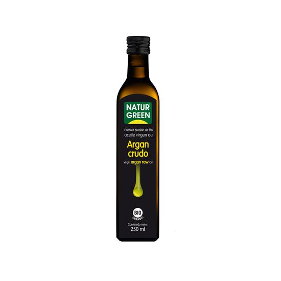 Aceite de argan crudo bio Naturgreen 250 ml