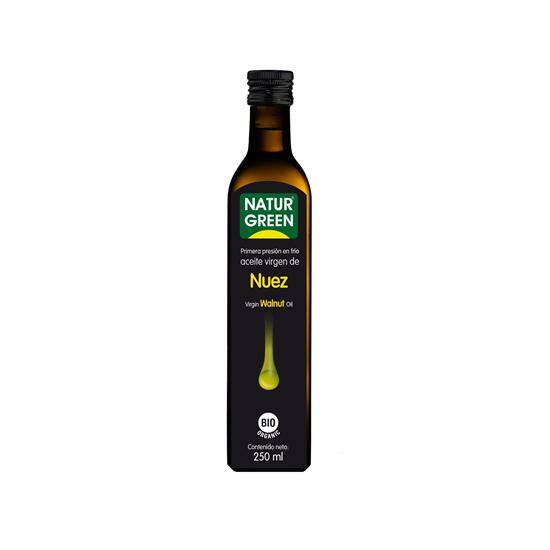 Aceite de nuez bio Naturgreen 250 ml