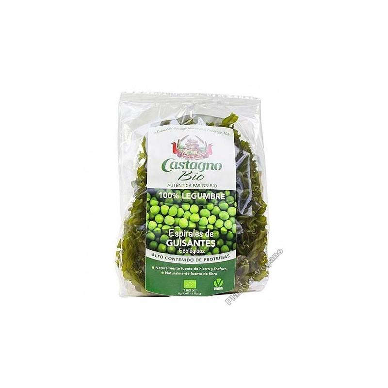 Espirales 100 % Guisante Verde Castagno