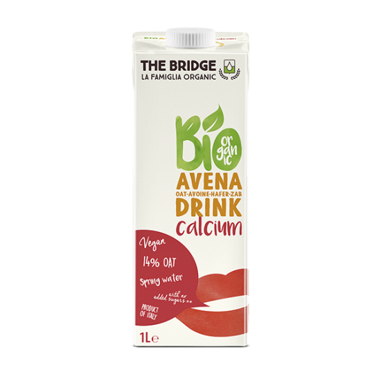 Bebida De Avena Con Calcio The Bridge